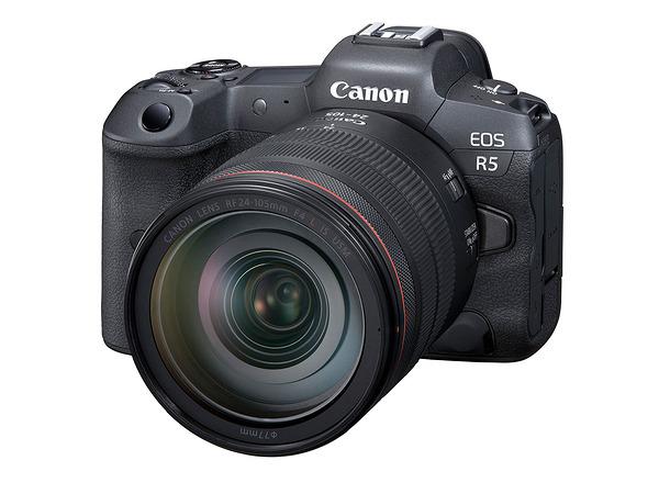 كانون تعلن عن كاميرتها الجديدة R5